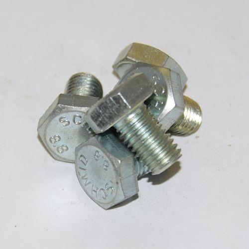 HEX.BOLT DIN 933- 8.8 M10X 25