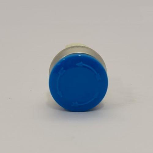 PUSH BUTTON B4P3. BLUE